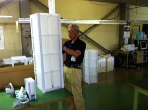 樹脂製熱交換器試作品製作