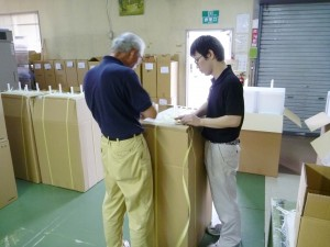 樹脂製熱交換器梱包