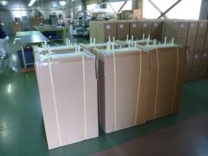 排熱回収用熱交換器梱包