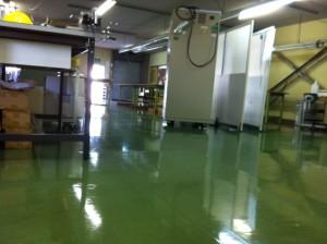 サンニクス家電修理センター新規修理ライン