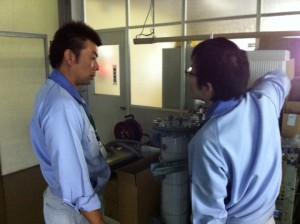 樹脂製熱交換器の説明